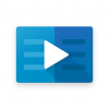 LinkedIn Learning Logo blue video player