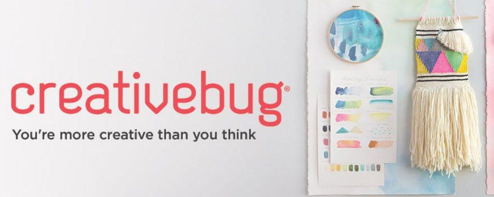 creativebug, you're more creative than you think